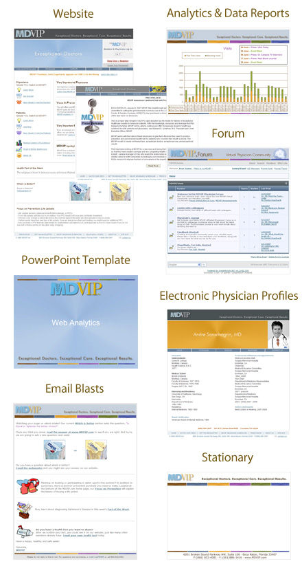email bulletin template - medical company identity package physician branding